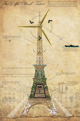 Zombie Safe House Competition: The Eiffel Wind Tower
