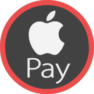 apple pay icon outline