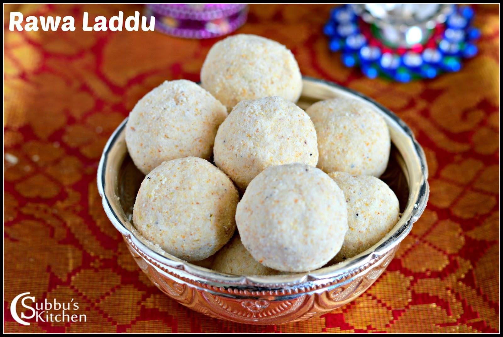Rawa Laddu(Sooji Laddu)