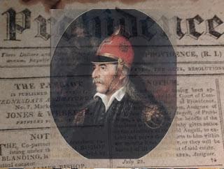 Ιστορικό πρωτοσέλιδο αμερικάνικης εφημερίδας του 1821