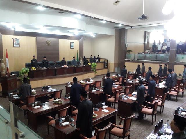 8 Fraksi DPRD Muba Sepakat Pembatasan Pesta Rakyat
