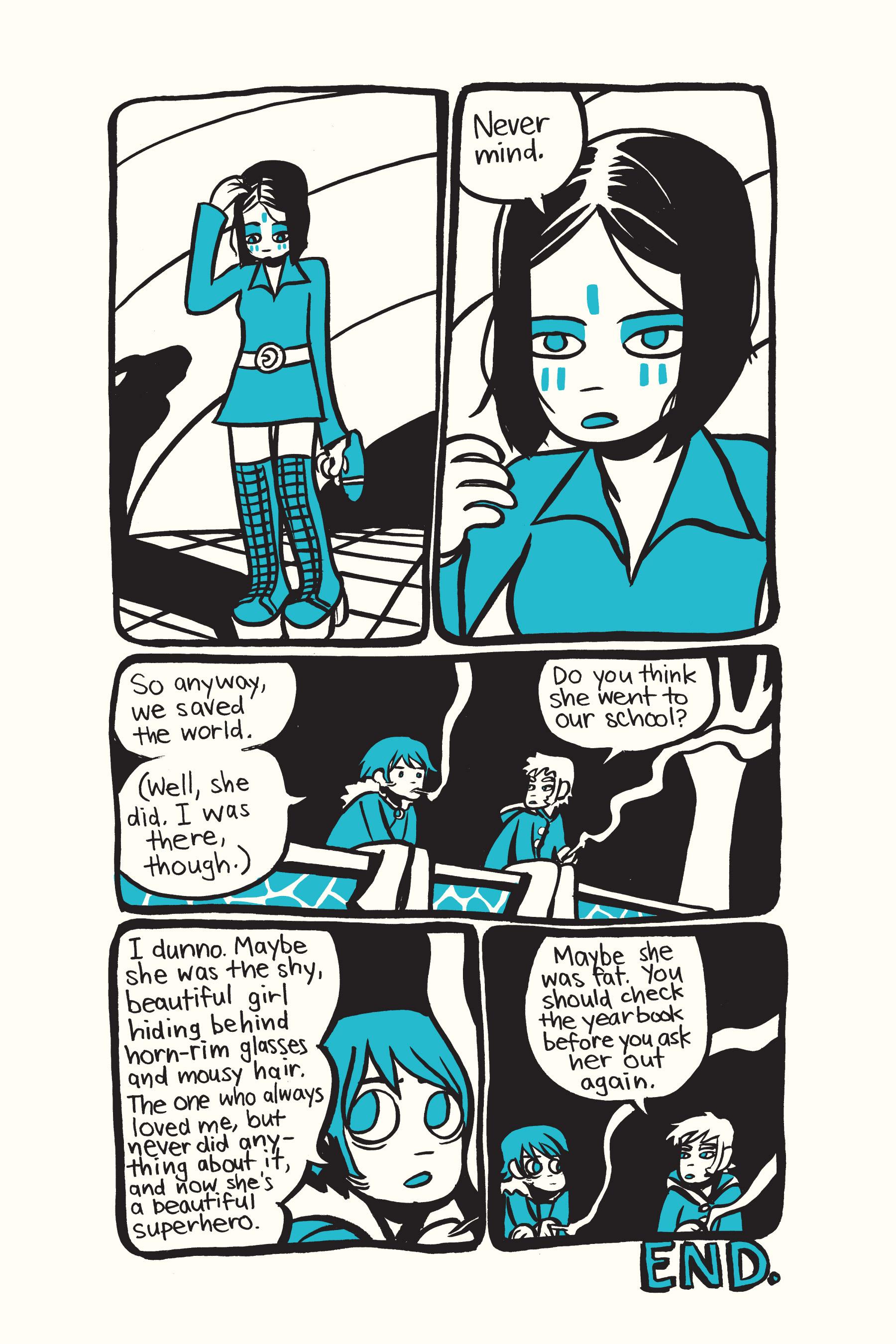 Read online Scott Pilgrim comic -  Issue #2 - 194