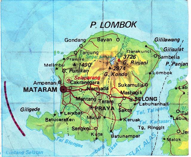 Gambar Pulau Lombok