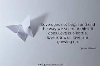 Love Quote by James Baldwin