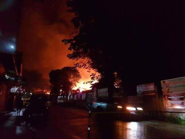 Mindanao palący sie lollage