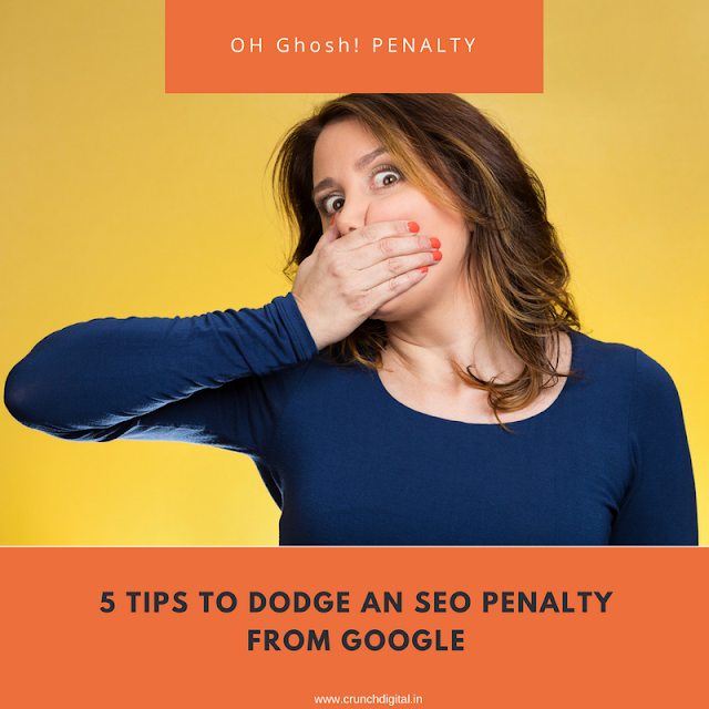 5 Tips to Avoid Penalty from Google