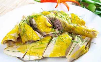 Khi viêm họng hạt có nên ăn thịt gà