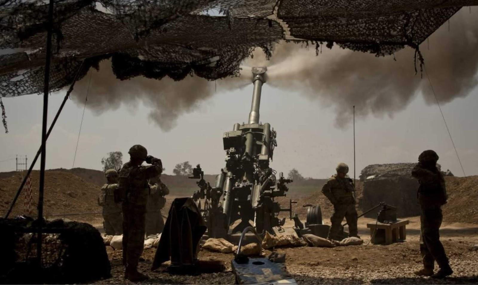 NI berbicara tentang metode baru menghancurkan artileri AS