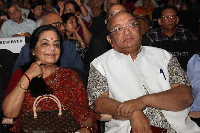 Uma Sharma, Kathak Dancer with Mr. Kamal Modi