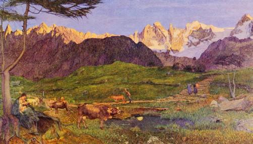 giovanni segantini montagne