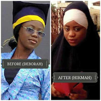 Nigerian Lady list 5 Reasons Why she dumped Christianity For Islam