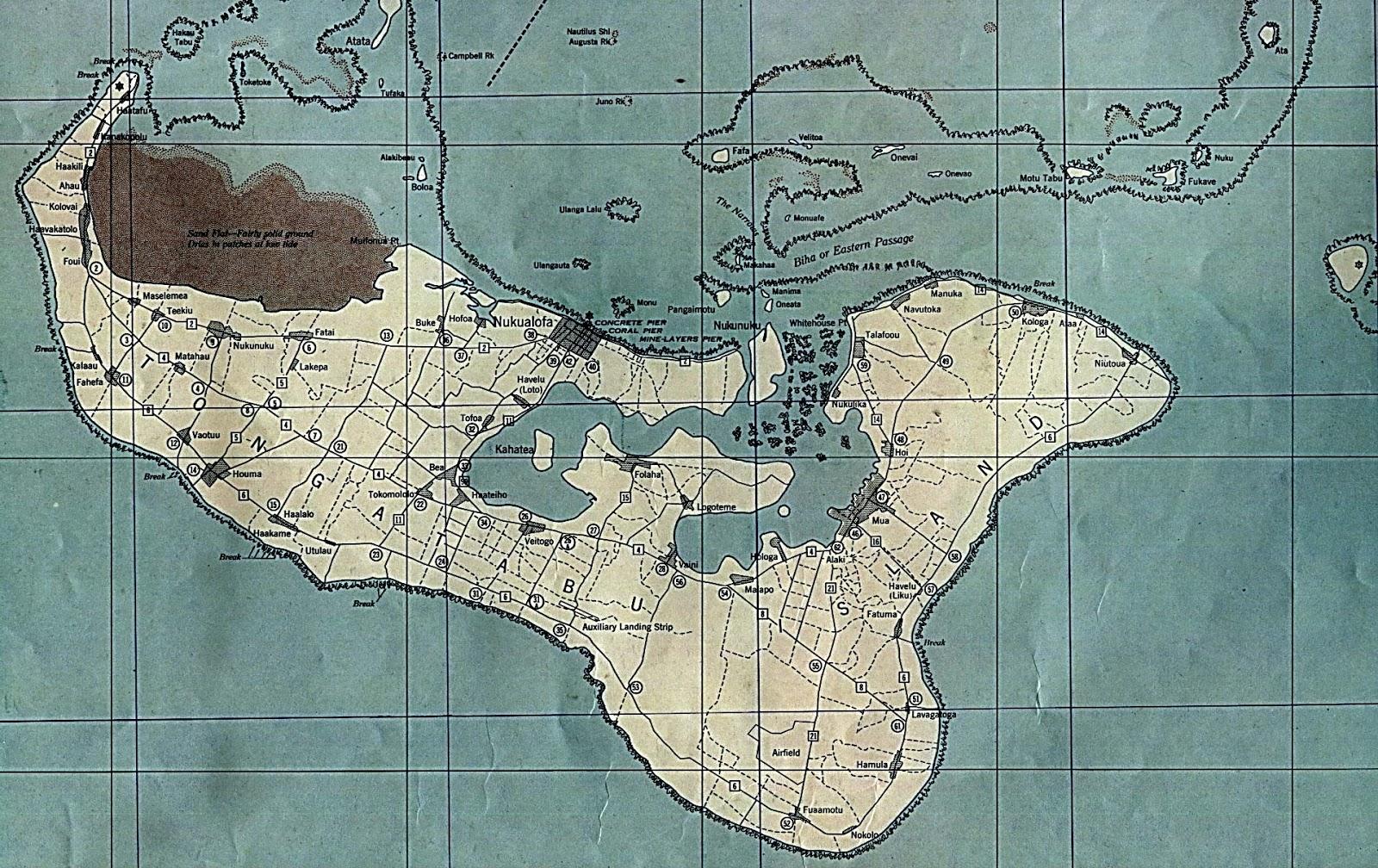 Mapas Geográficos de Tonga