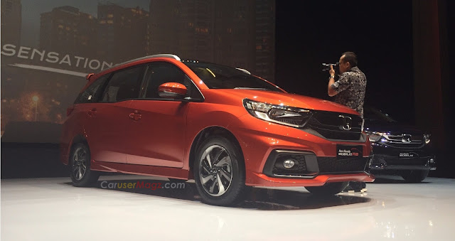 Honda Mobilio facelift 2017 Indonesia launching