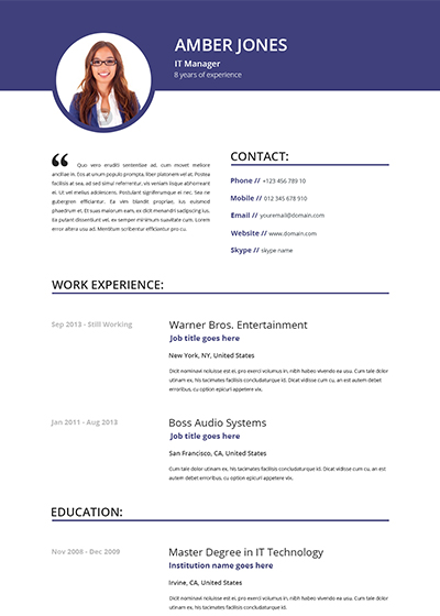 rn - Totally Free Resume Template