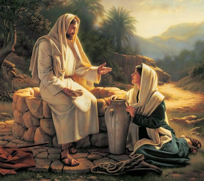 Jesus and samaria women