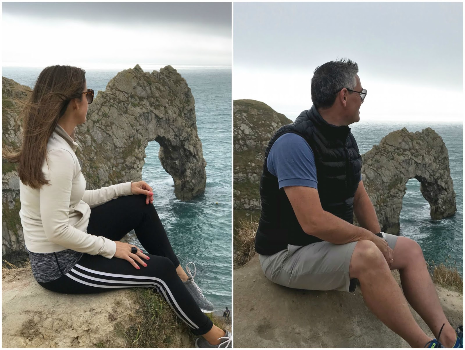 looking out to Durdle Door