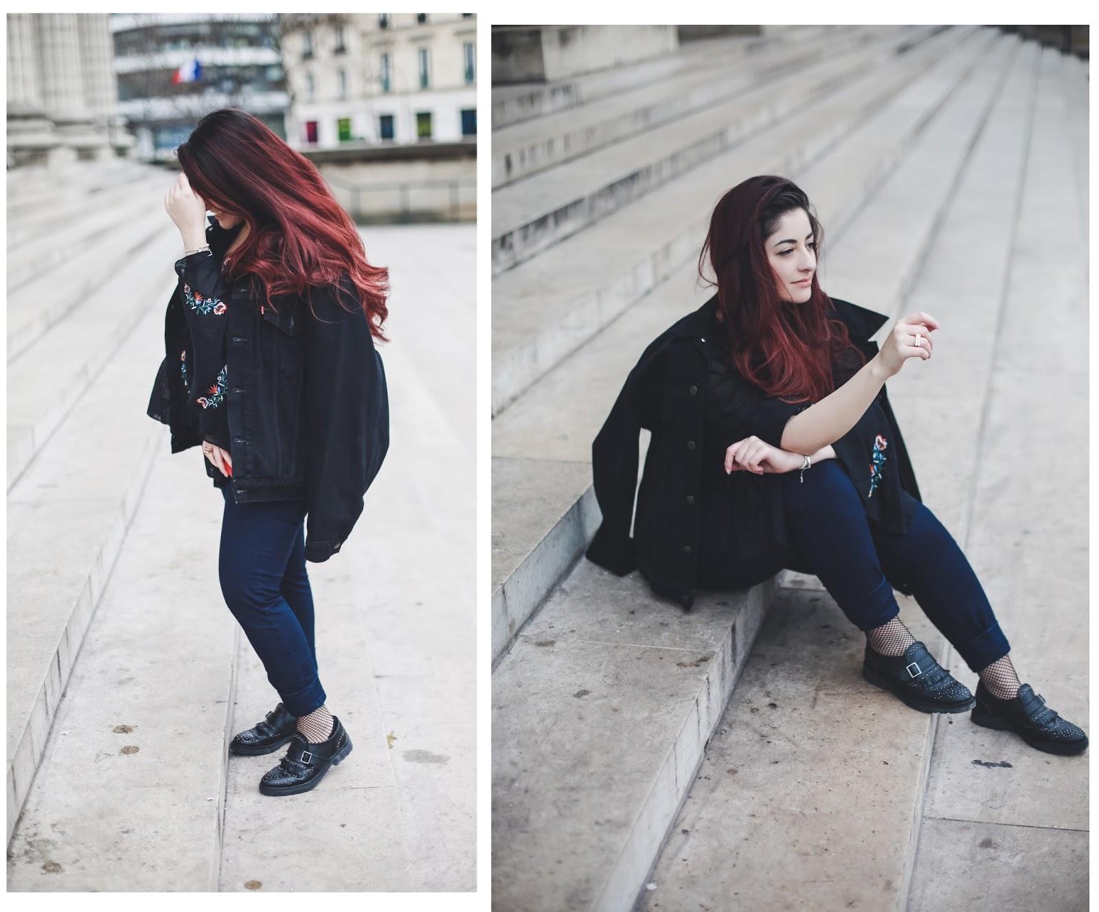 mocassins chaussettes résilles blog mode venus is naive