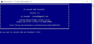 Cara Instal ADB dan Fastboot di Windows Hanya 15 Detik