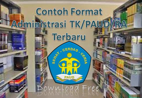 Contoh Format Administrasi TK/PAUD/RA Terbaru