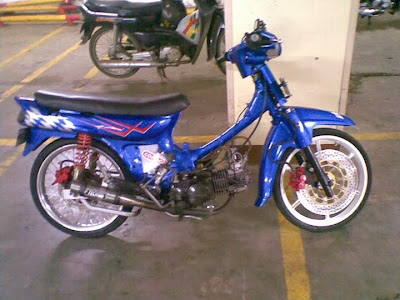 Modifikasi Motor Astrea Grand Drag