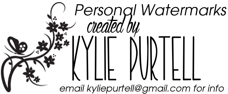 To order your custom watermark, contact Kylie at kyliepurtell@gmail.com
