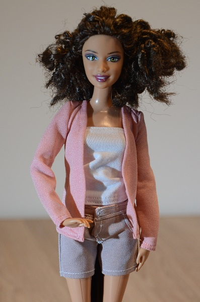 Shorts for Barbie doll.