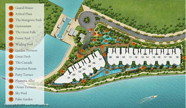 Seascape @ Sentosa Cove Floor Plan