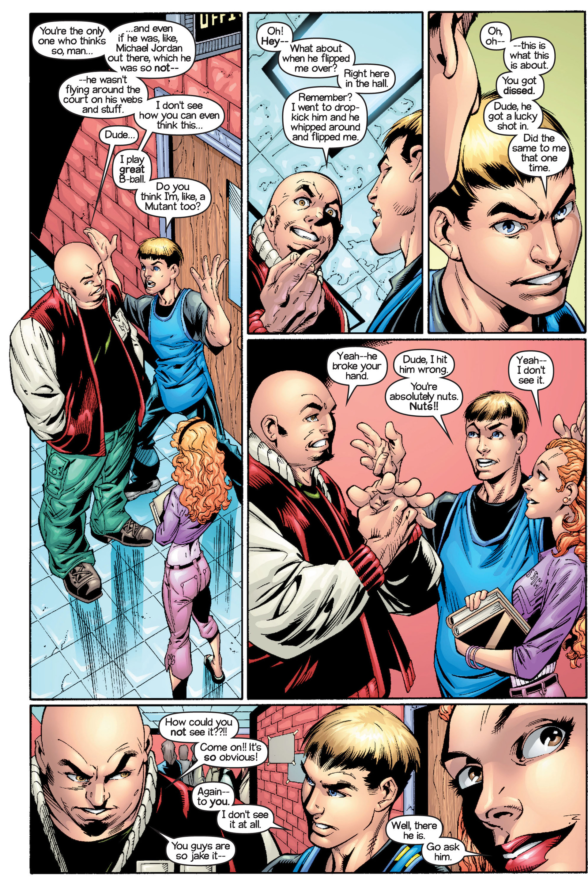 Read online Ultimate Spider-Man (2000) comic -  Issue #15 - 8