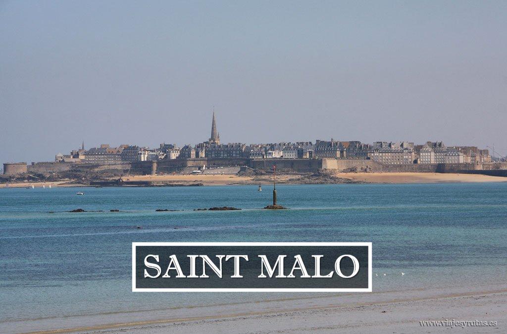Una de las localidades más visitadas de Bretaña, Saint Malo