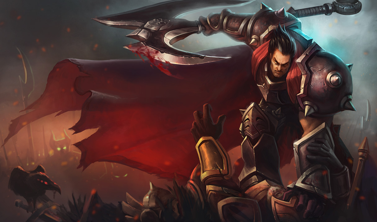 League Of Legends Darius Wallpapers