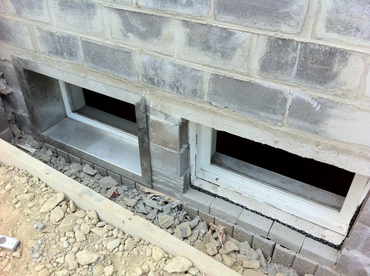 Beliebt Baublog: Kellerfenster - Lichtschacht RR18