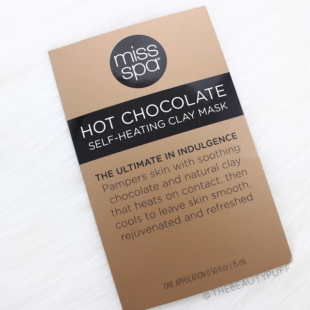 Miss Spa Hot Chocolate Clay Mask |  Lusterhood