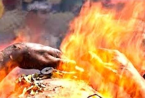 Mengerikan Inilah Kisah Jenazah Terbakar Setelah Dikubur 30 Menit