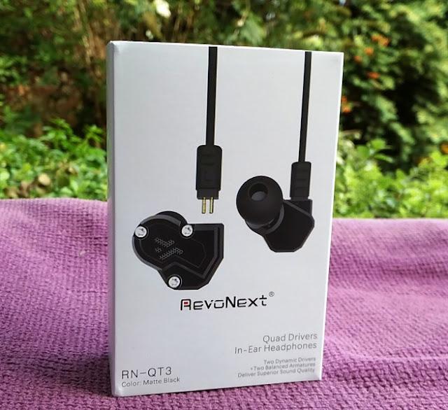 Revonext Rn-Qt3 Quad Driver Earphones