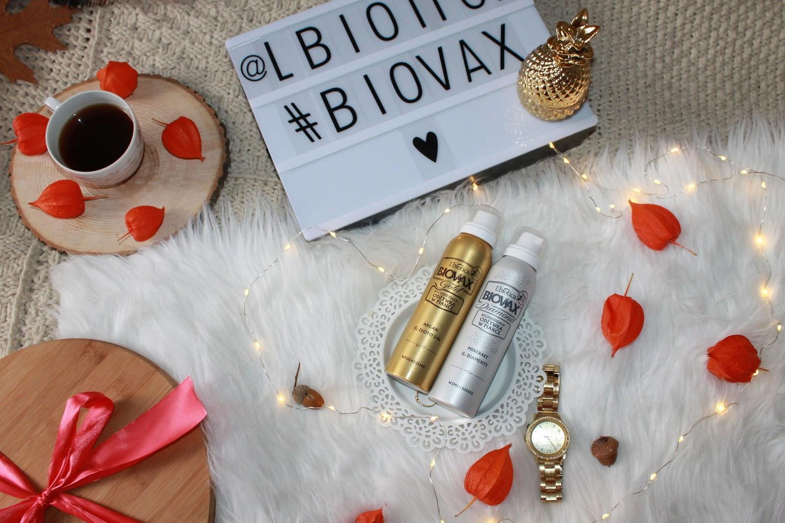 L'biotica Biovax Glamour - regenerujące odżywki w piance - HIT czy KIT?