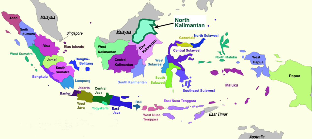 Sedangkan provinsi dengan luas wilayah terkecil adalah. Peta Provinsi Indonesia Www Bilderbeste Com