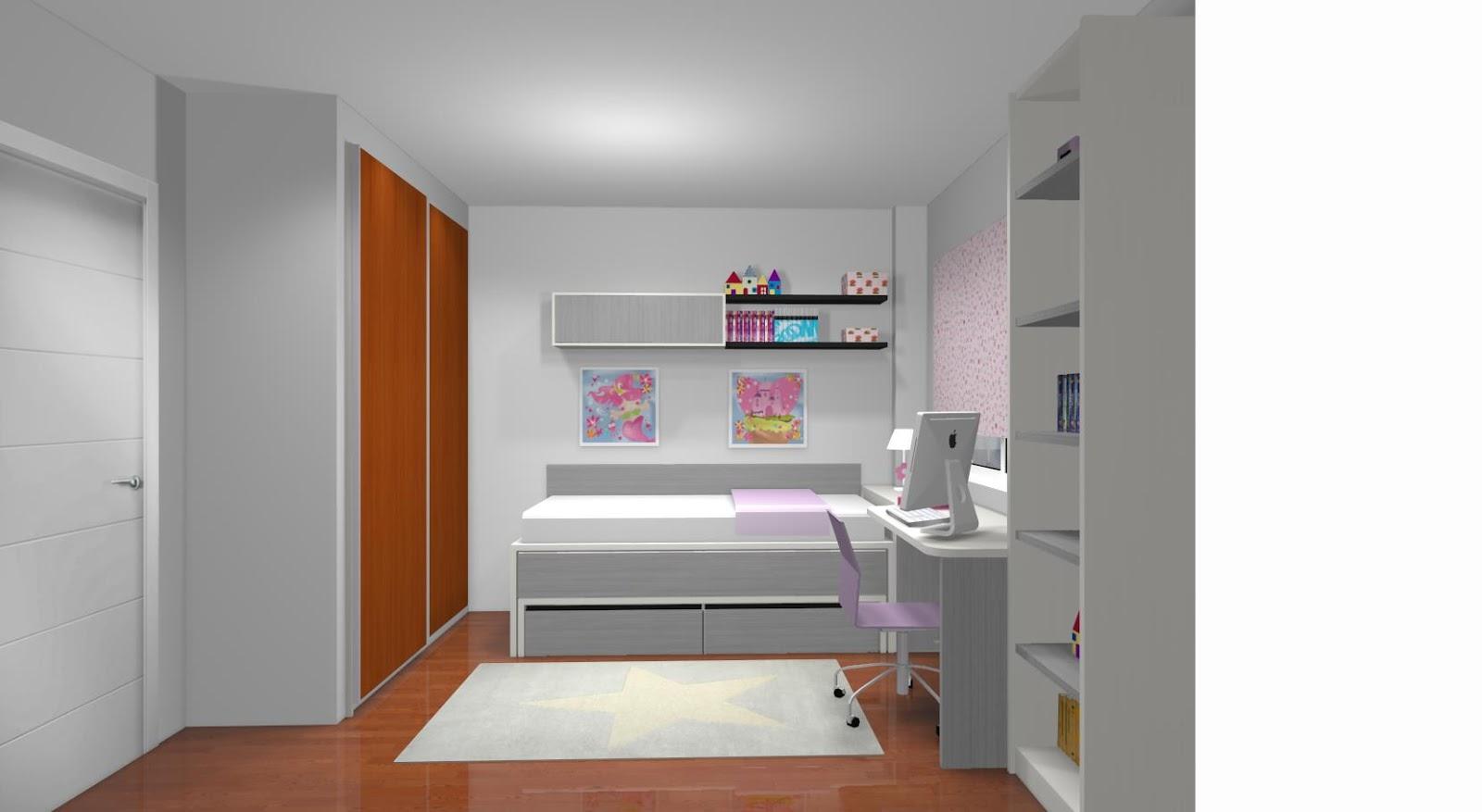 Dormitorios juveniles a medida en madrid - Habitaciones juveniles con dos camas ...