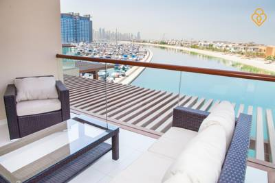 شقق  Keysplease - Palm Views Beach Studio Dubai