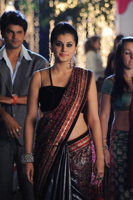 taapsee saree taapsee black saree latest photos