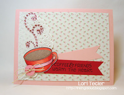 Coffee and Friends-designed by Lori Tecler-Inking Aloud-stamps from Reverse Confetti