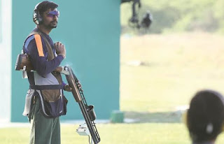 Spotlight:  Ankur Mittal wins silver at World Shotgun Championship