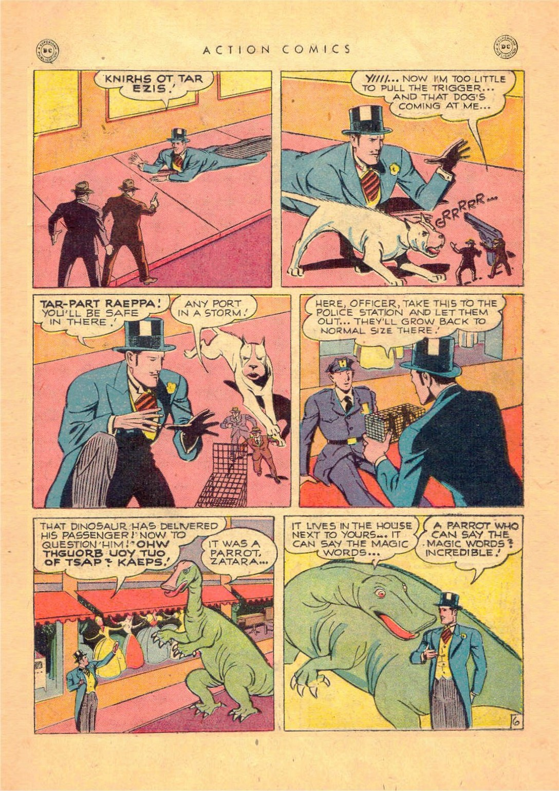 Read online Action Comics (1938) comic -  Issue #124 - 29