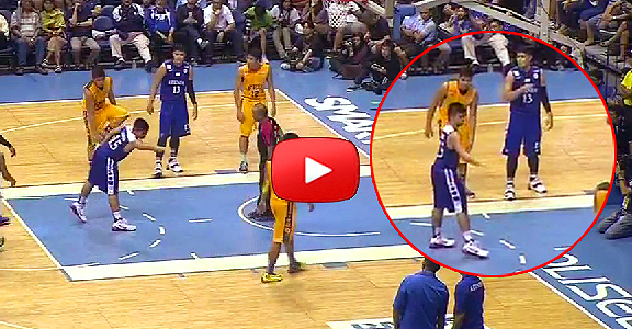 Kiefer Ravena high-fives invisible teammates (VIDEO)