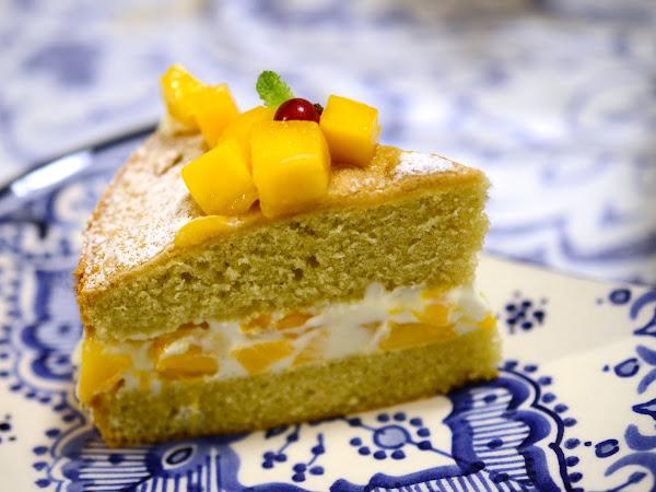 Mango Genoise