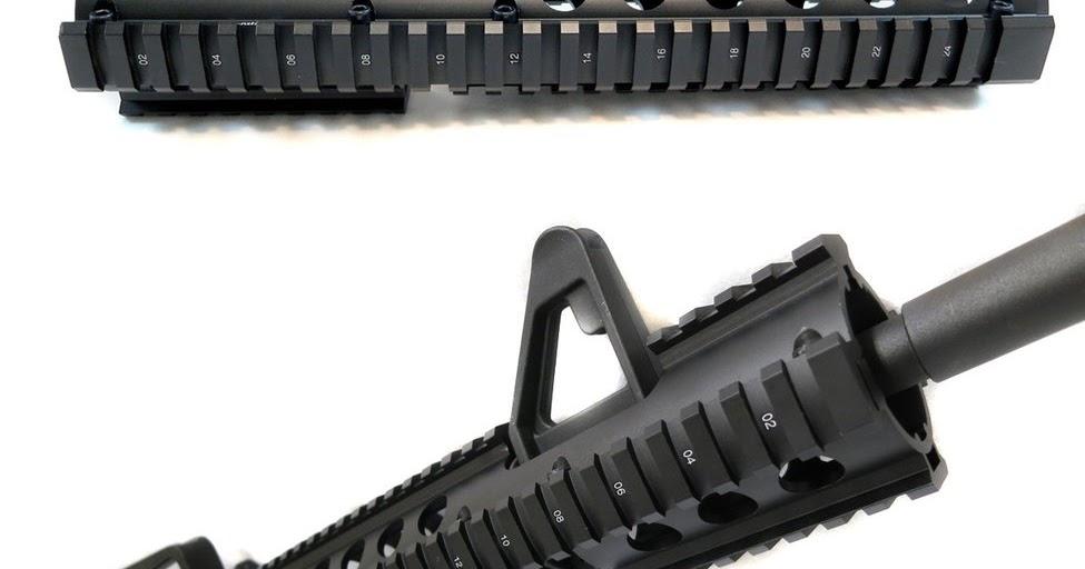 Rifle Talks: AR-15 Extended Quad Rail Handguard with FSP Cut