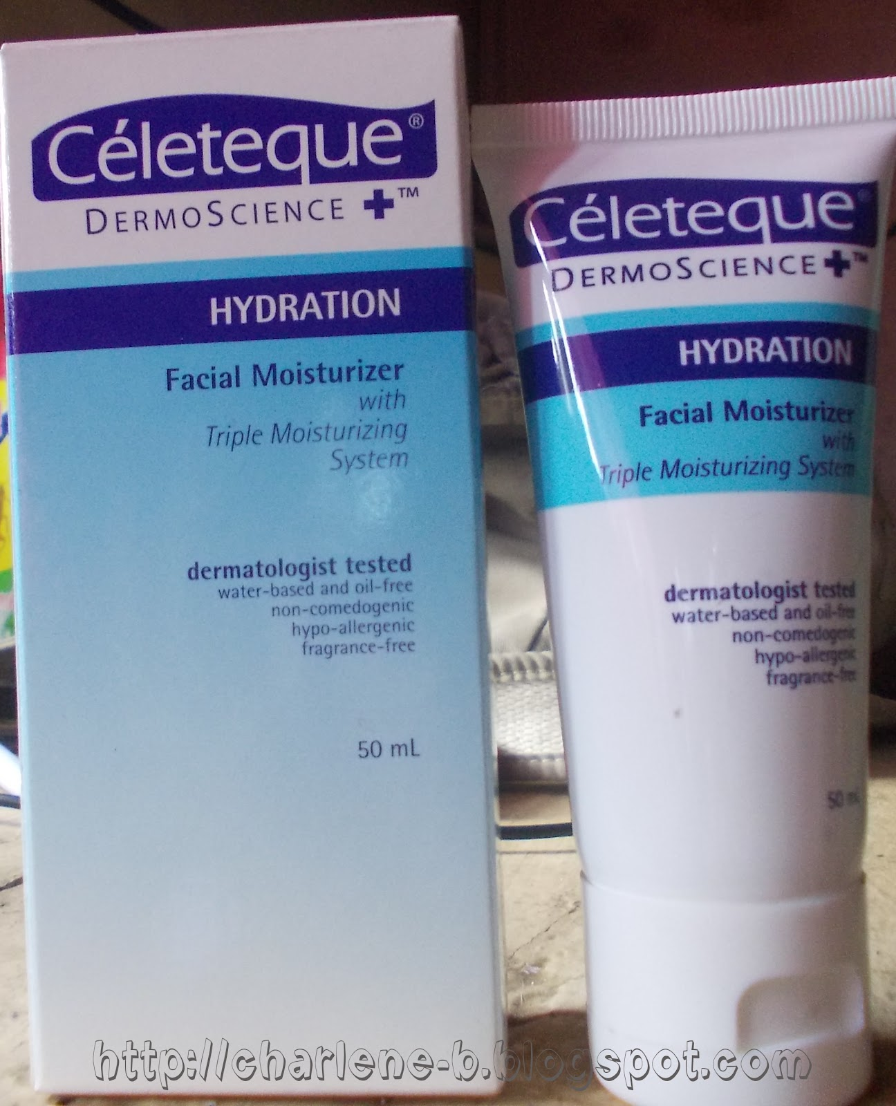 Uncharted Plans Celeteque Dermoscience Hydration Facial Moisturizer