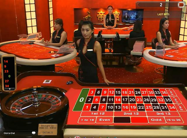 Casino online croupier dal vivo