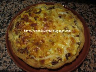 Crostata rustica salsiccia e formaggio