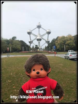 kiki monchhichi Brussels Bruxelles zinneke pis manneken pis bd chocolat Atomium