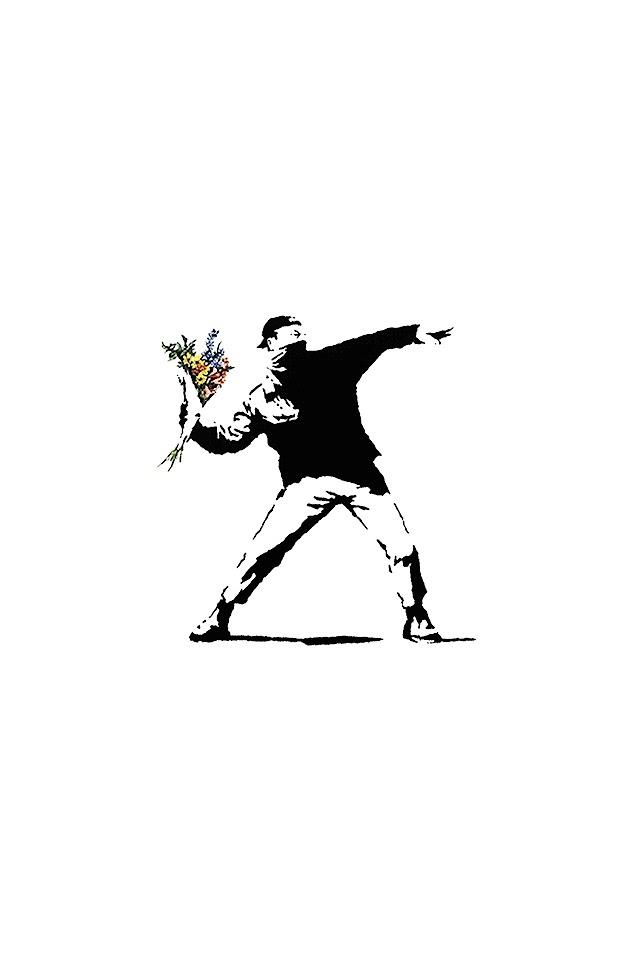 Banksy  Galaxy Note HD Wallpaper